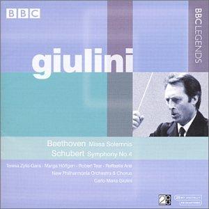 ベートーヴェン:ミサ・ソレムニス/シューベルト交響曲第4番