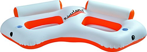"Balance Living® - Riverland 2-Person Inflatable Water Sofa Pool Lounge (85""L x 41""W x 19""H)"