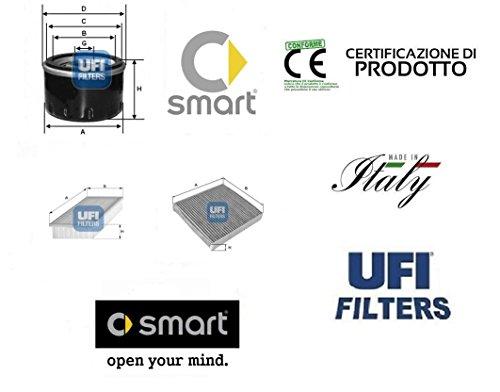 kit-3-filtri-tagliando-ufi-smart-fortwo-451-10-cc-tutte