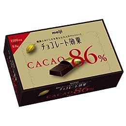 明治 チョコレート効果カカオ86% BOX 68g×5個