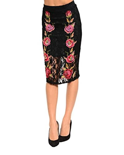 S.H.E. Women's Lace Skirt