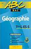 img - for ABC Bac : G ographie, Terminale L, ES, S book / textbook / text book