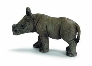 Schleich African black rhino calf
