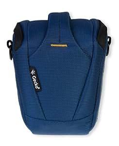 Die original GeckoCovers SLR Kameratasche Colttasche Universaltasche Medium und der Farbe blau / blue - passend für DSLR Spiegelreflexkameras , Kompaktkameras , Digitalkameras z.B Panasonic Lumix DMC - G5 - Sony NEX 3N ,Sony NEX 5TL , Sony NEX 5R , Sony NEX 6 , Sony Nex 7 , Ricoh GX