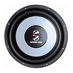 ground zero gziw 300x 30 cm subwoofer 350 wrms electronics. Black Bedroom Furniture Sets. Home Design Ideas
