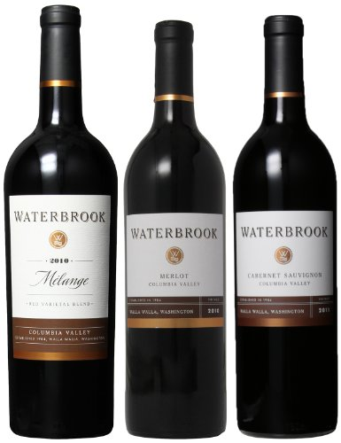 Waterbrook Irresistible Red Wines Mixed Pack, 3 X 750 Ml