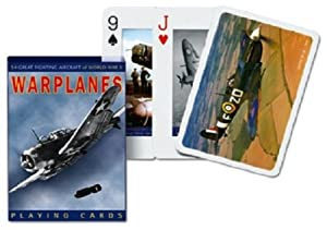World War Ii War Planes Single Standard Deck Of Playing Cards By Piatnik