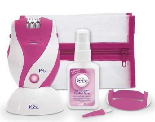 Veet VTSH8907UK Touchably Smooth Mains Rechargeable Women's Epilator