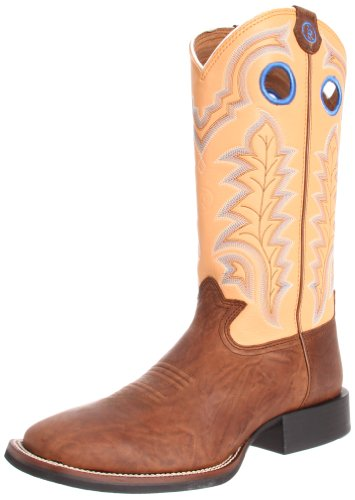 Tony Lama Boots Men's RR4011 Boot,Tan Tribe/Maize Baron Calf,10.5 D US