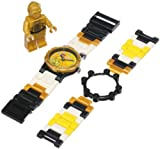 LEGO Kids' 9002960 Star Wars C3PO Watch With Minifigure