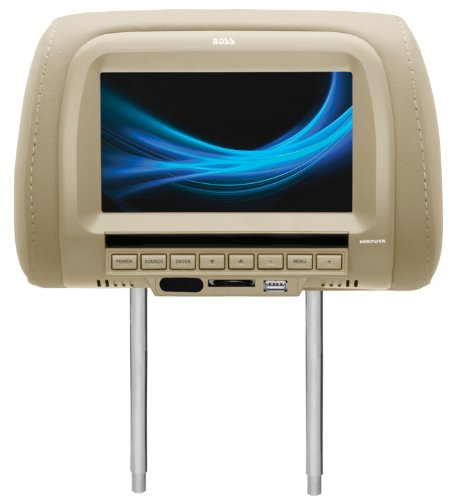 Boss Audio Hir7Uta Mobile-Video Headrest 7-Inch Screen Monitor Usb/Sd/Mp4/Mp3 Player With Remote