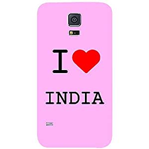 Skin4gadgets I love India Colour - Light Pink Phone Skin for SAMSUNG GALAXY S5