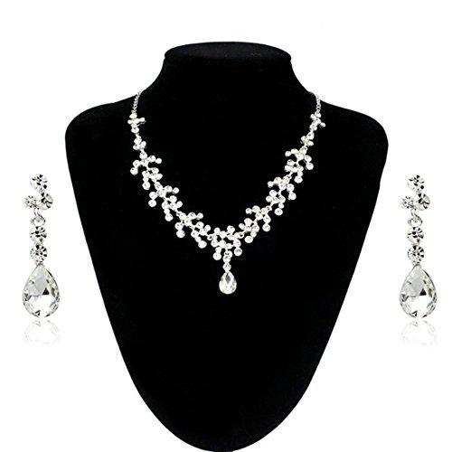 Best Bestpriceam Wedding Rhinestone Crystal Necklace