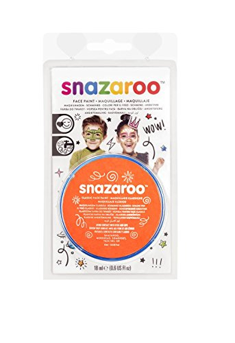 18ML ORANGE Classic Snazaroo Classic Face Paint - 1