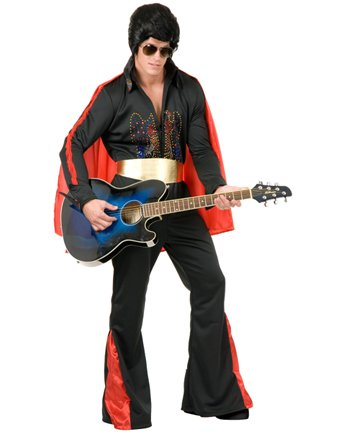 Rhinestone Elvis Costume