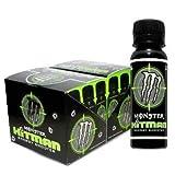 Monster Hitman Energy Drink Shooter 24 Bottles