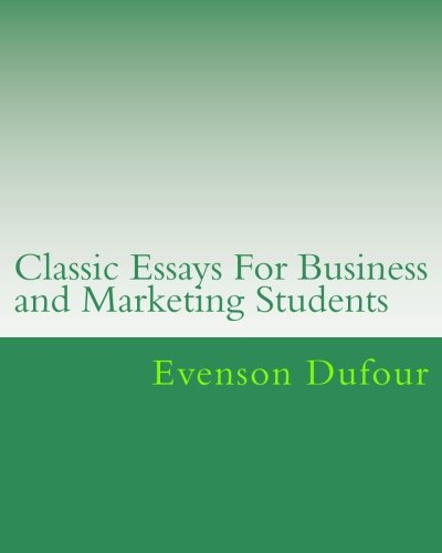 Classic Essays for College Students: Examples of Written Papers