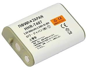 【ロワジャパン】【大容量 通話時間UP】PANASONIC パナソニック コードレスホン 子機用 充電池 KX-FAN51 HHR-T407 CT-092 電池パック-092 電話機用 バッテリー JANコード:4571476510059