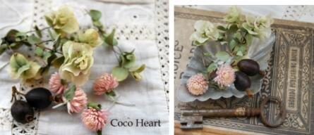 ~Coco Heart~ちょっぴり ドライフラワーオレガノミックス(木の実・ドライフラワー.リース、アレンジ)