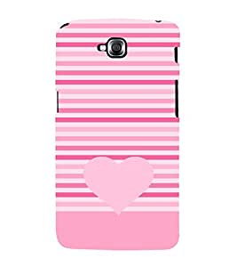 Love Heart Design 3D Hard Polycarbonate Designer Back Case Cover for LG GPro Lite :: LG G Pro Lite Dual D686