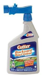 "Spectrum HG-61067 ""Cutter"" Bug Free Backyard Spray - 32 Oz. (Pack of 6)"