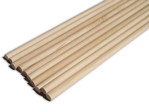 10-pack-of-30cm-x-6mm-birch-hardwood-dowels