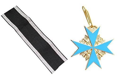 80-ww1-premiere-guerre-mondiale-prussien-arme-la-plus-haute-medal-of-honor-le-mrite-rplique-noir