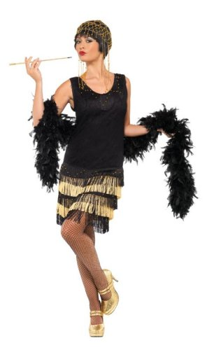 Smiffys-Womens-20s-Fringed-Flapper-Costume