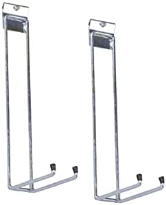 Triton Products 1738 Storability Long Handle Tool Hooks for Use with Top Track, 2-Pack