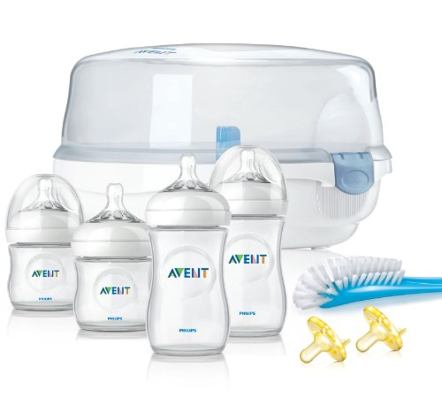 Philips Avent BPA Free Natural Essentials Gift Set - 1