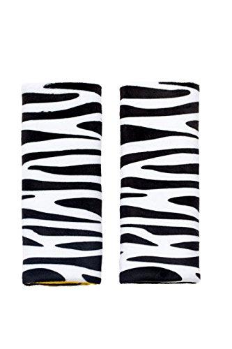 Benbat Seat Belt Pals Pads, Zebra