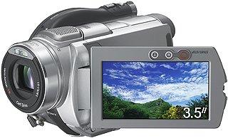 Sony DCR-DVD505E DVD Camcorder (2MP CMOS, 10x Optical, 3.5