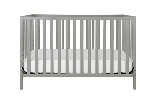 Fantastic Deal! Union 4-in-1 Convertible Crib, Grey