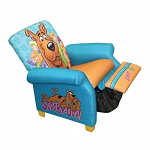 Warner Brothers Scooby Doo Paws Kids Recliner, Scooby Doo Paws by Warner Brothers