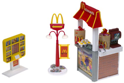 Barbie McDonald's Fun Time Drive-Through Playset - Buy Barbie McDonald's Fun Time Drive-Through Playset - Purchase Barbie McDonald's Fun Time Drive-Through Playset (Mattel, Toys & Games,Categories,Dolls,Fashion Dolls)
