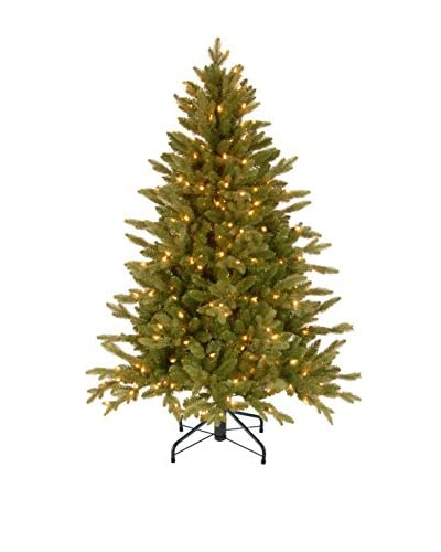 National Tree Company 4.5' Feel Real Avalon Spruce Medium Hinged Tree
