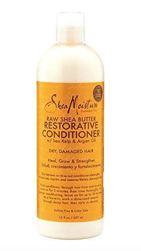 SheaMoisture Raw Shea Butter Restorative Conditioner, 16 Ounce (Shea Hair Conditioner compare prices)