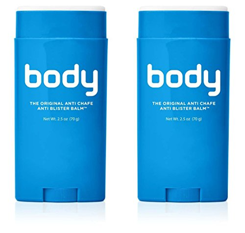 Bodyglide Original Anti-Chafe Balm (Packaging May Vary) (2-Pack, 2.5-Ounce) (Naglene Container compare prices)