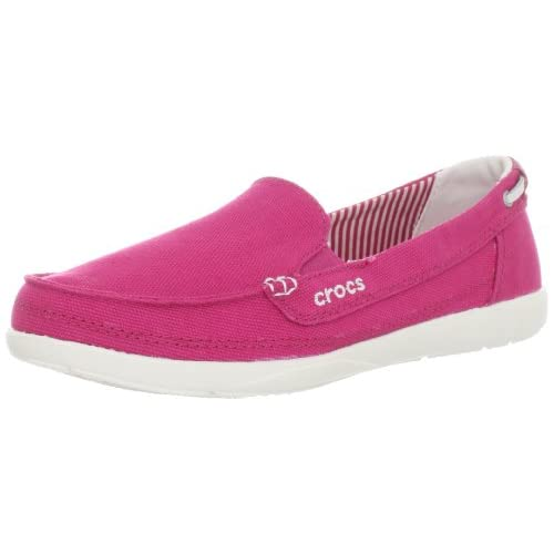 crocs平底凉鞋