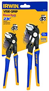 IrwinTools 1802531 Two Piece GrooveLock 6-Inch and 8-Inch V-Jaw Pliers Set at Sears.com