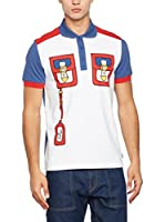 Love Moschino Polo (Blanco / Rojo / Denim)