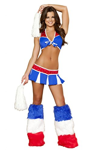 Sexy All American Cheerleader Halloween Costume