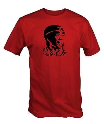 Monkey Magic T Shirt (Men's RED S- XXL) (Small)