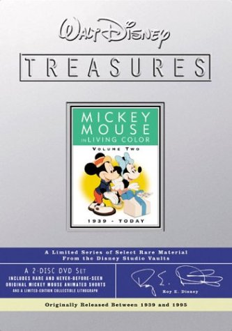 Walt Disney Treasures - Mickey Mouse in Living Color, Volume Two (Living Color Dvd compare prices)