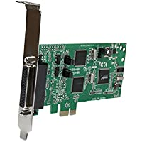 StarTech.com 4 Port PCI Express Dual Profile PCIe Serial Card Adapter With Breakout Cable - 2 X RS232 2 X RS422...