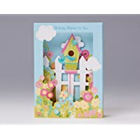 Picture Perfect Birdhouse Birthday Card