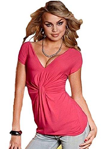 Lipsy London nodi maglietta rosa taglia 40 322908