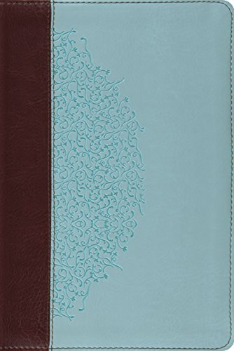 ESV Study Bible, Personal Size (TruTone, Chocolate/Blue, Ivy Design) (Esv Bibles) by ESV Bibles by Crossway (2012-01-31) (Esv Personal Size Study Bible compare prices)