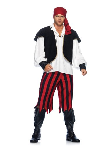 Rogue Pirate Adult Costume Size Medium/Large