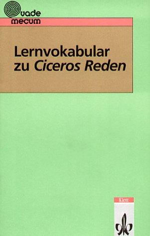 Lernvokabular zu Ciceros Reden